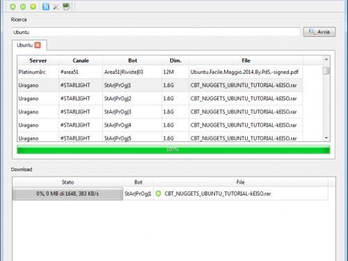 Xdcc Downloader